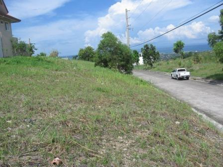 Over-looking Lot for Sale in Pacific Heights, Talisay City, Cebu